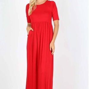 Small red maxi